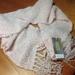 Luxurious femmine soft pink scarf/wrap