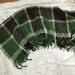 Three tones of green Kid Mohair/Merino Blanket