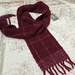 Handwoven Mohair and Merino Scarf