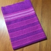 Handwoven Mauve kitchen towels