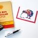 Kiwi Greeting Card x 4