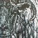 Swaledale Sheep woodcut.