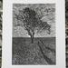 'Tramlines' woodcut print