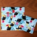 Reusable Snack Bags - Set of 2 - Eco friendly - Toucan print