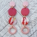Strawberry Milkshake Earrings