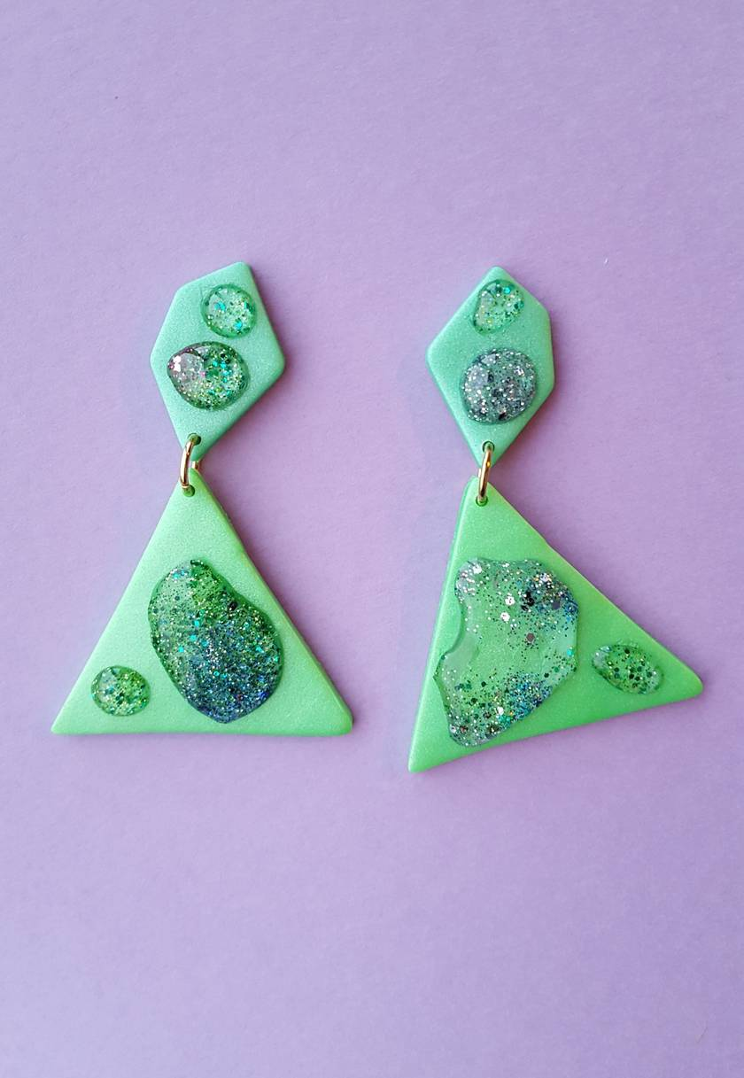 Droplet Earrings (triangle)