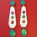 Droplet Earrings (white)