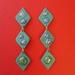 Droplet Earrings (deep green)