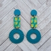 Claude Earrings (turquoise)