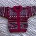 Boysenberry Ripple - Hand knitted - Wool - Cardigan