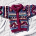 This Little Garden - Hand knitted - Wool - Cardigan