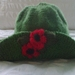 Leaf Green - Hand knitted - Hat