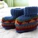 Ewe Booties - 100% Wool - Hand knitted