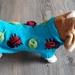 Ladybug Dog Coat - Wool - Hand knitted