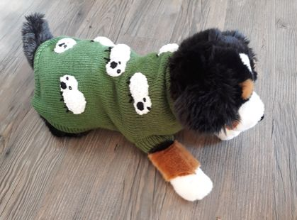 Sheep Dog Coat - Wool - Hand knitted