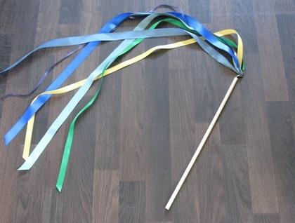 Dancing ribbons