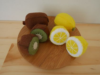 Felt toys, Felt food, Felt fruits, Pretend playing, Food toy, Educational toys
