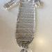 Merino baby gown