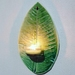 Porcelain Leaf Tealight Holder