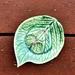 Hydrangea trinket dish