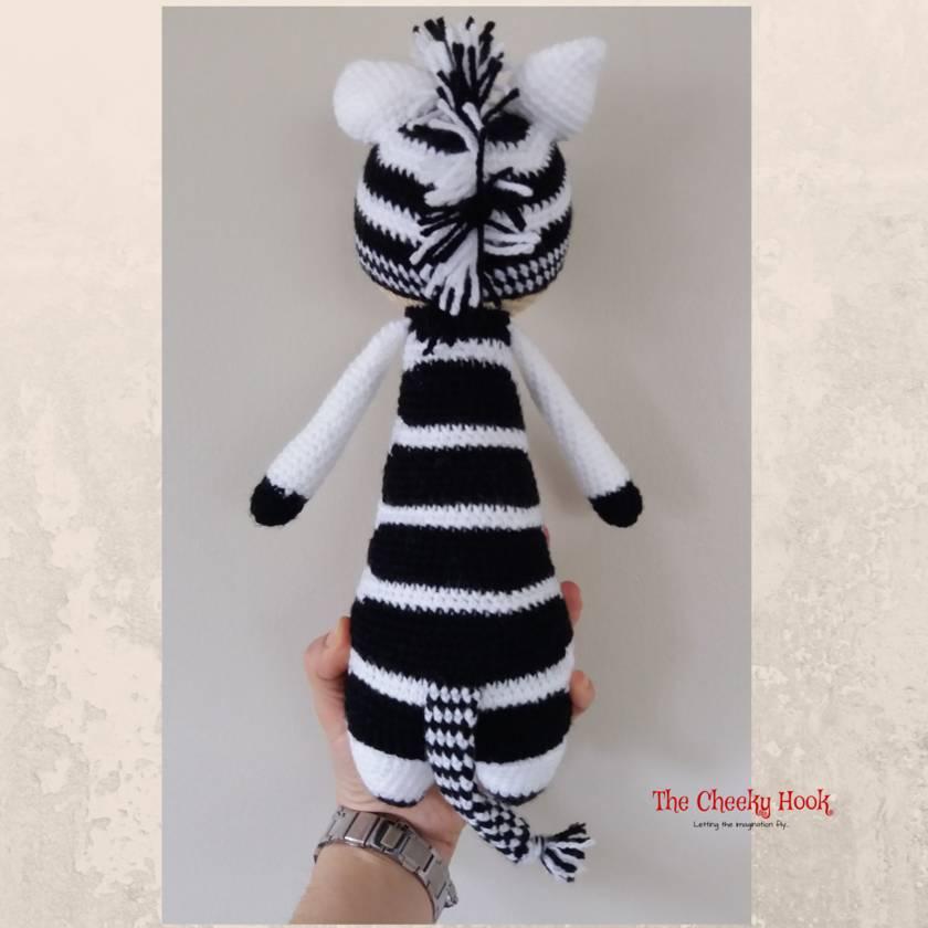 How To Crochet A Cute Toy Zebra - DIY Crafts Tutorial ... | 840x840