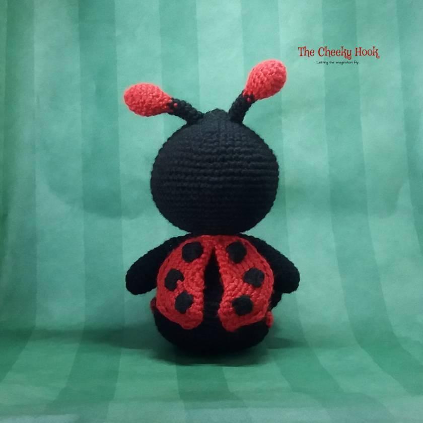 Ravelry: Amigurumi Ladybug pattern by HappyAmigurumi | 840x840
