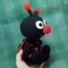 Crochet Ladybird Amigurumi.