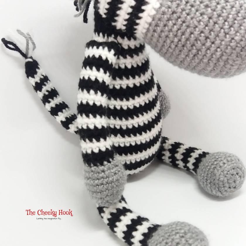 Crochet Zebra Amigurumi.