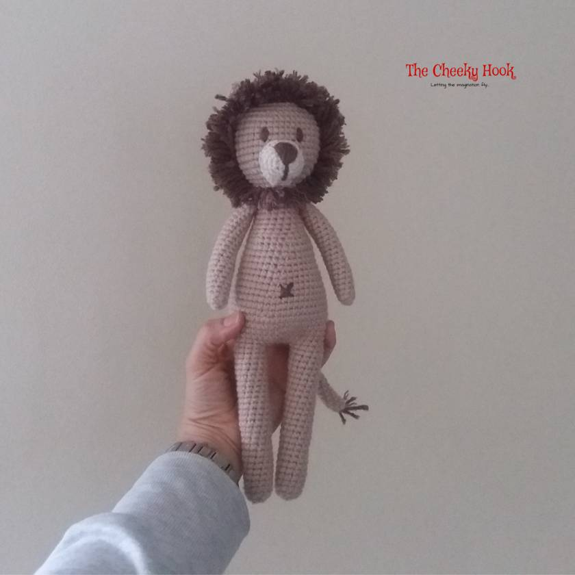 10 Free Crochet Lion Amigurumi Patterns ⋆ DIY Crafts | 840x840