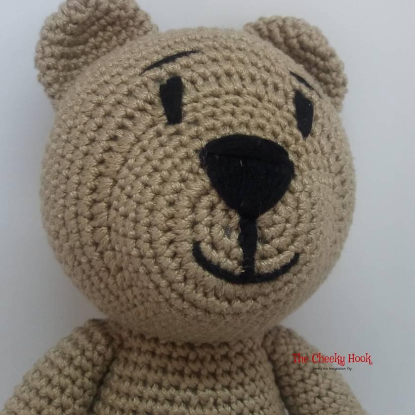 FREE PATTERN: Tiny Teddy Bear – Kristi Tullus | 840x840