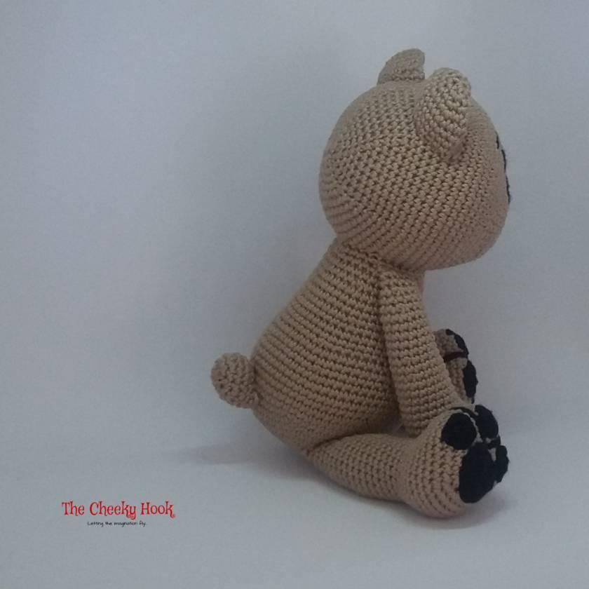 Amazon.com: Vietsbay Mint Color Teddy Handmade Amigurumi Crochet ... | 840x840