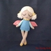 Yuki the Winter Fairy Crochet Doll