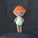 Belka the Acorn Elf Crochet Doll