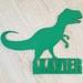 T-Rex Name Plaque
