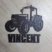 Tractor Name Plaque