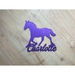 Horse Personalised Name Plaque