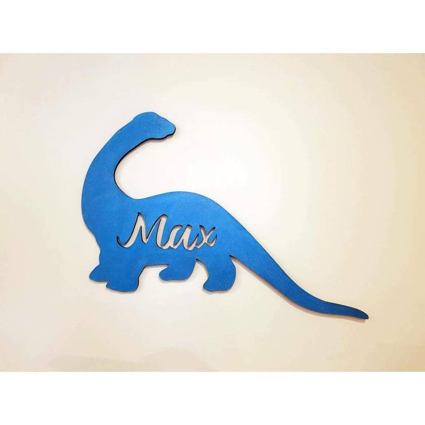 Dinosaur Name Wooden Plaque