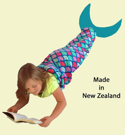 Mermaid Tail Blanket (large size) FREE SHIPPING within New Zealand