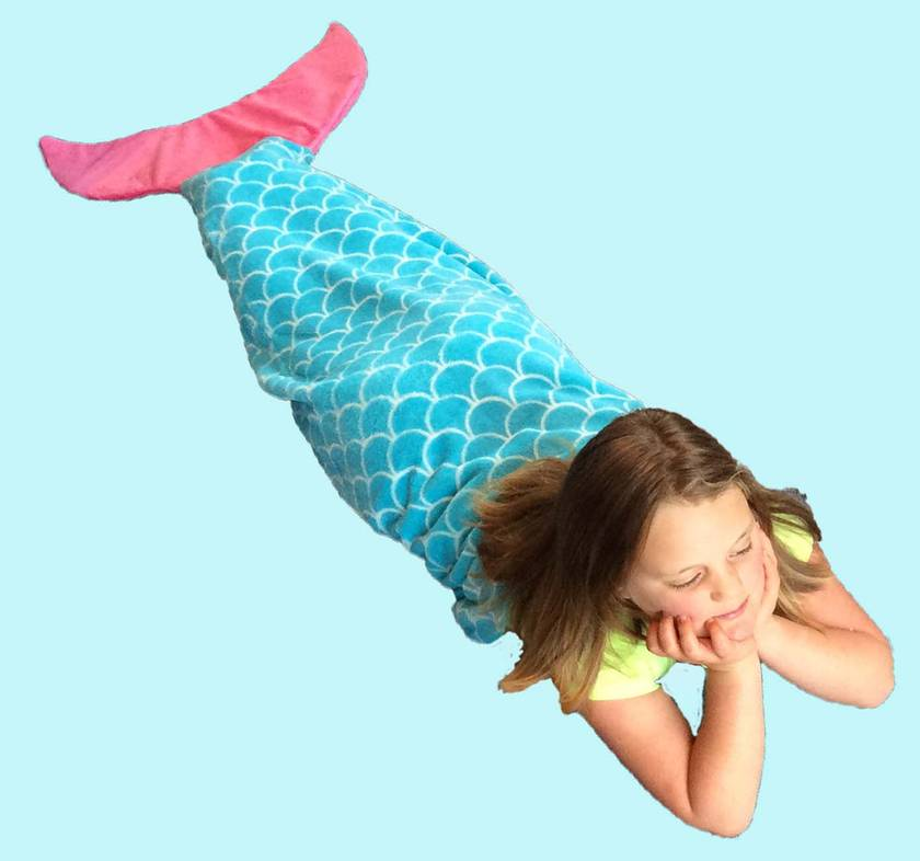 Mermaid Tail Blanket (large size)