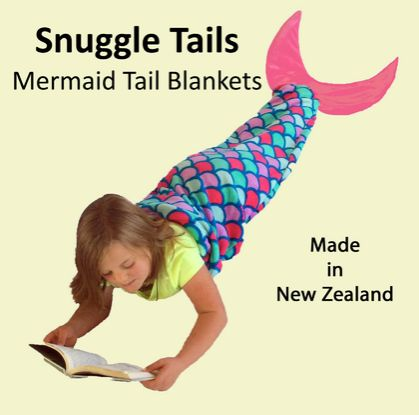 Mermaid Tail Blanket (small size) FREE SHIPPING in New Zealand