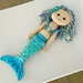 Mermaid Rag Doll FREE POSTAGE