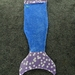 Mermaid Tail Blanket medium size