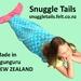 Mermaid Tail Blanket LARGE