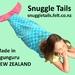 Mermaid Tail Blanket SMALL