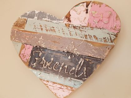 Wall HeART hangings - small