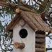 Rustic handcrafted Bird house