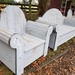 Wooden 3 x piece set Outdoor seating