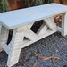 French Country wooden Bench seat