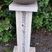 Amberley stone Pedestal Birdbath