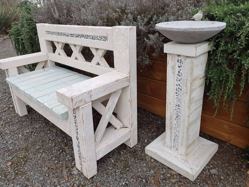 Tremendous Forever Garden Bench Seat Pabps2019 Chair Design Images Pabps2019Com